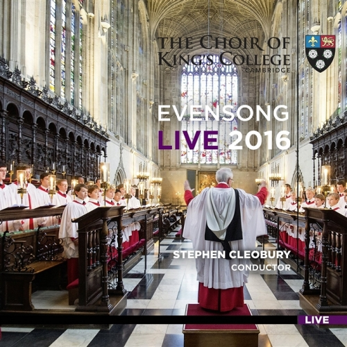 Evensong Live 2016 Front Cover