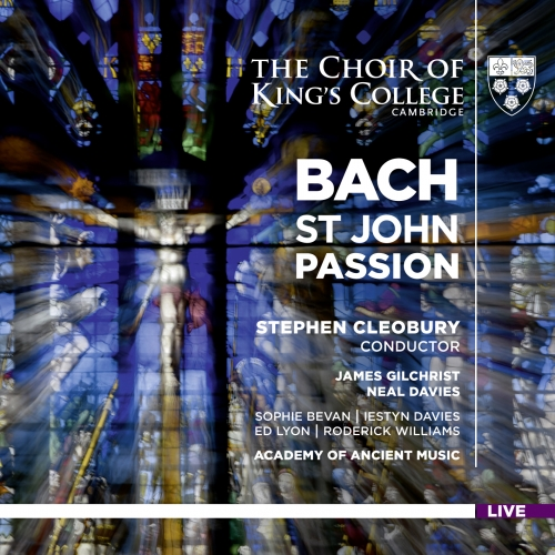 Bach St John Passion cover