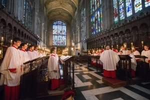 The Choir in the Stalls