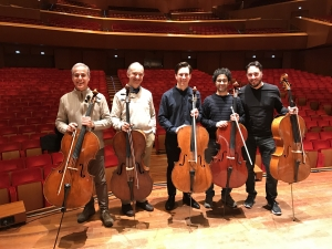 Guy Johnston and the Cellists of the Orchestra of the Accademia di Santa Cecilia