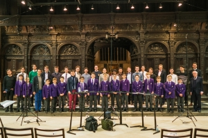 The King's Singers and King's College Choir
