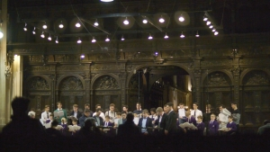 The concert, recorded live
