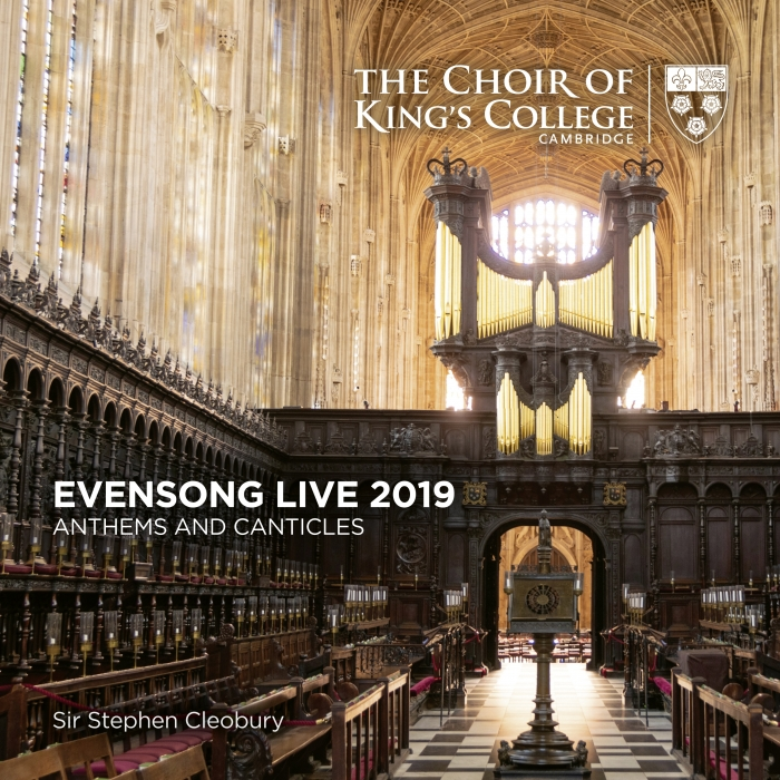 Evensong Live 2019 front cover