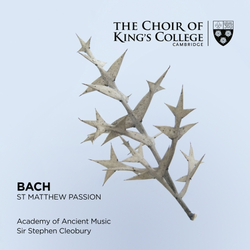 Bach St Matthew Passion front cover