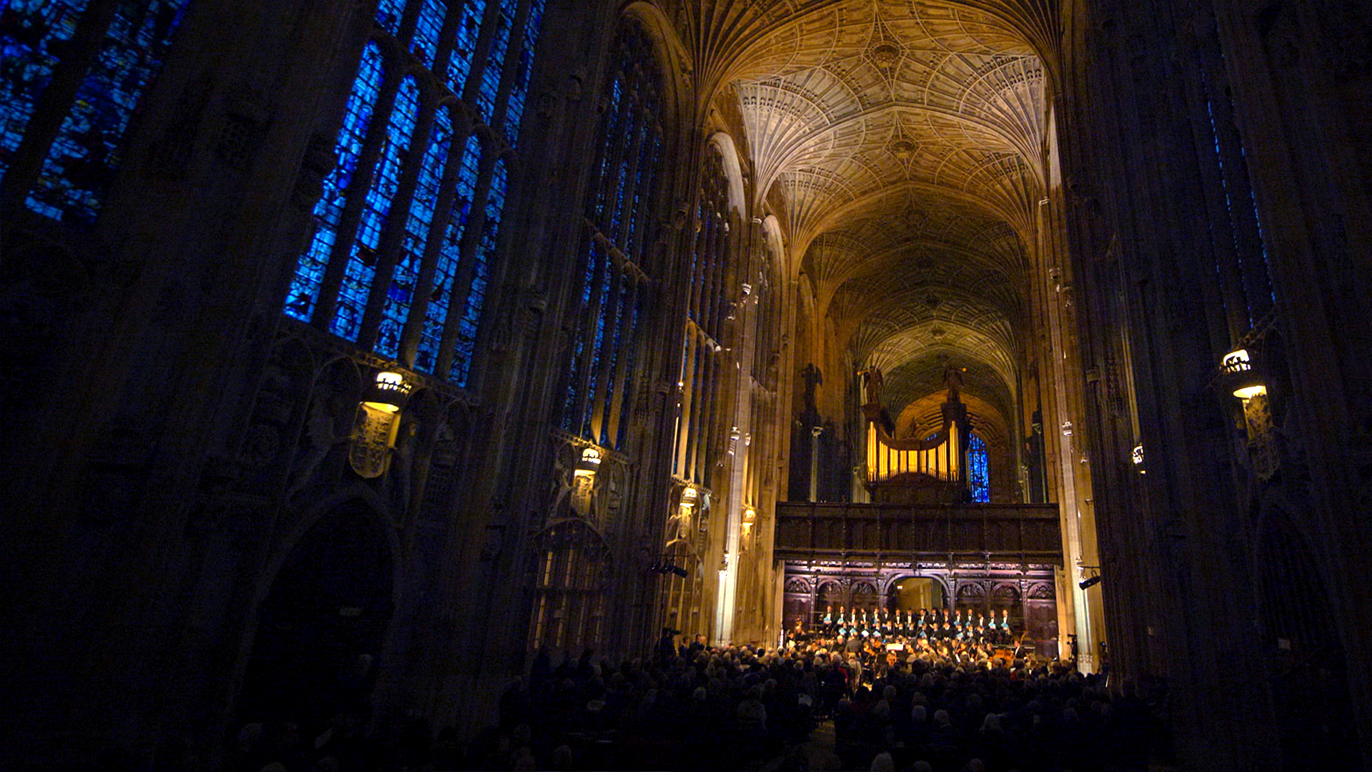 King's College Chapel Bach St Matthew Passion concert