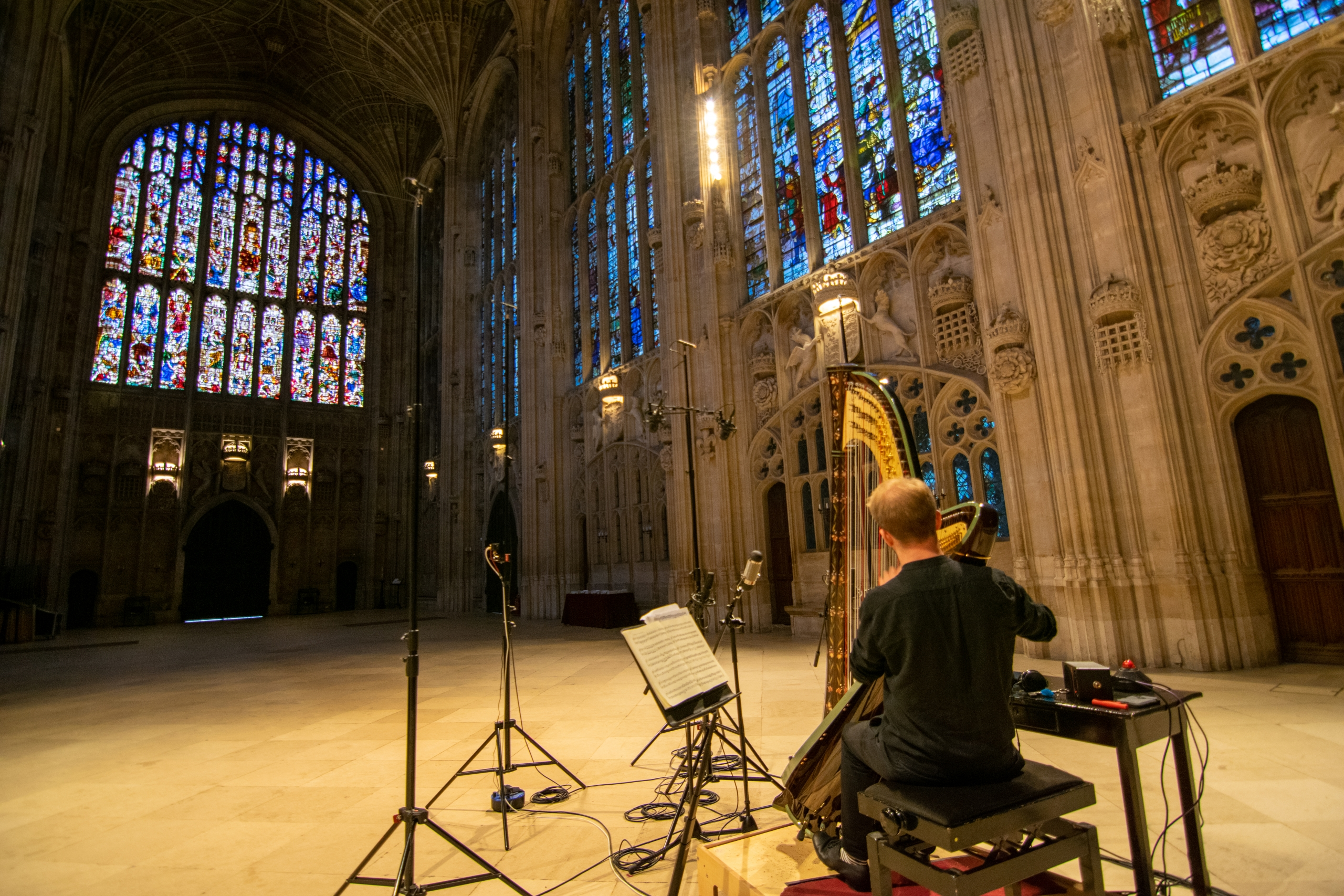 Parker Ramsay playing the Goldberg Variations in King's College Chapel