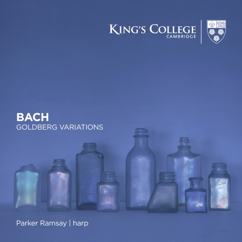 Bach Goldberg Variations by Parker Ramsay Album Cover