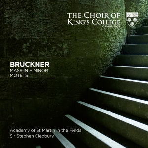 Bruckner Mass and Motets cover
