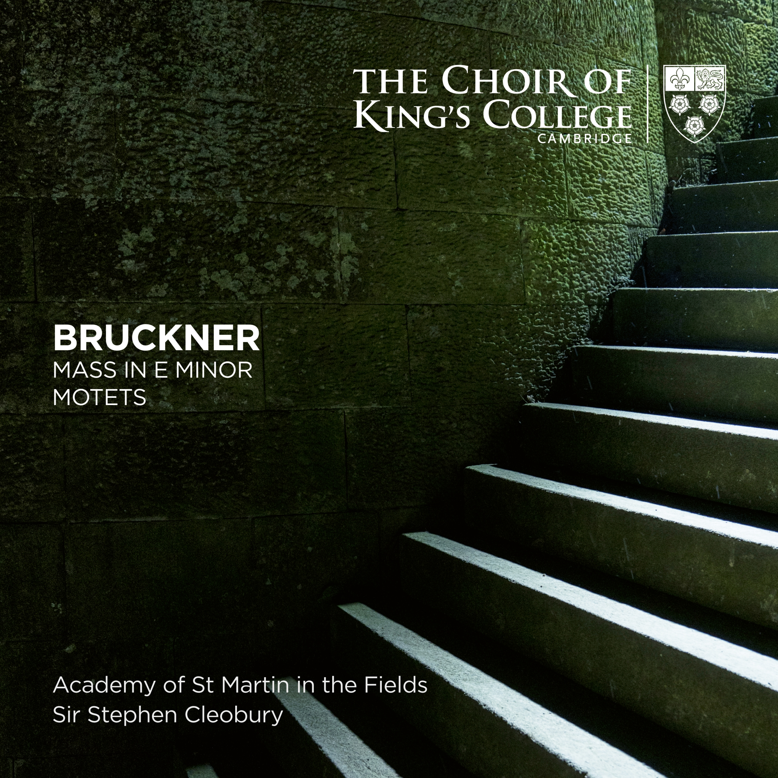 Bruckner Mass and Motets cover