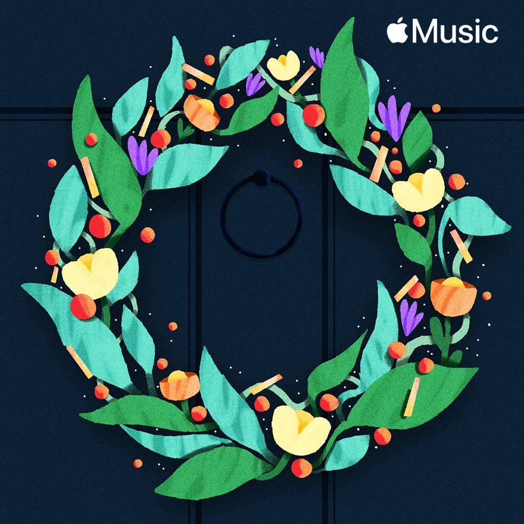 Apple Music Classic Christmas Carols playlist cover