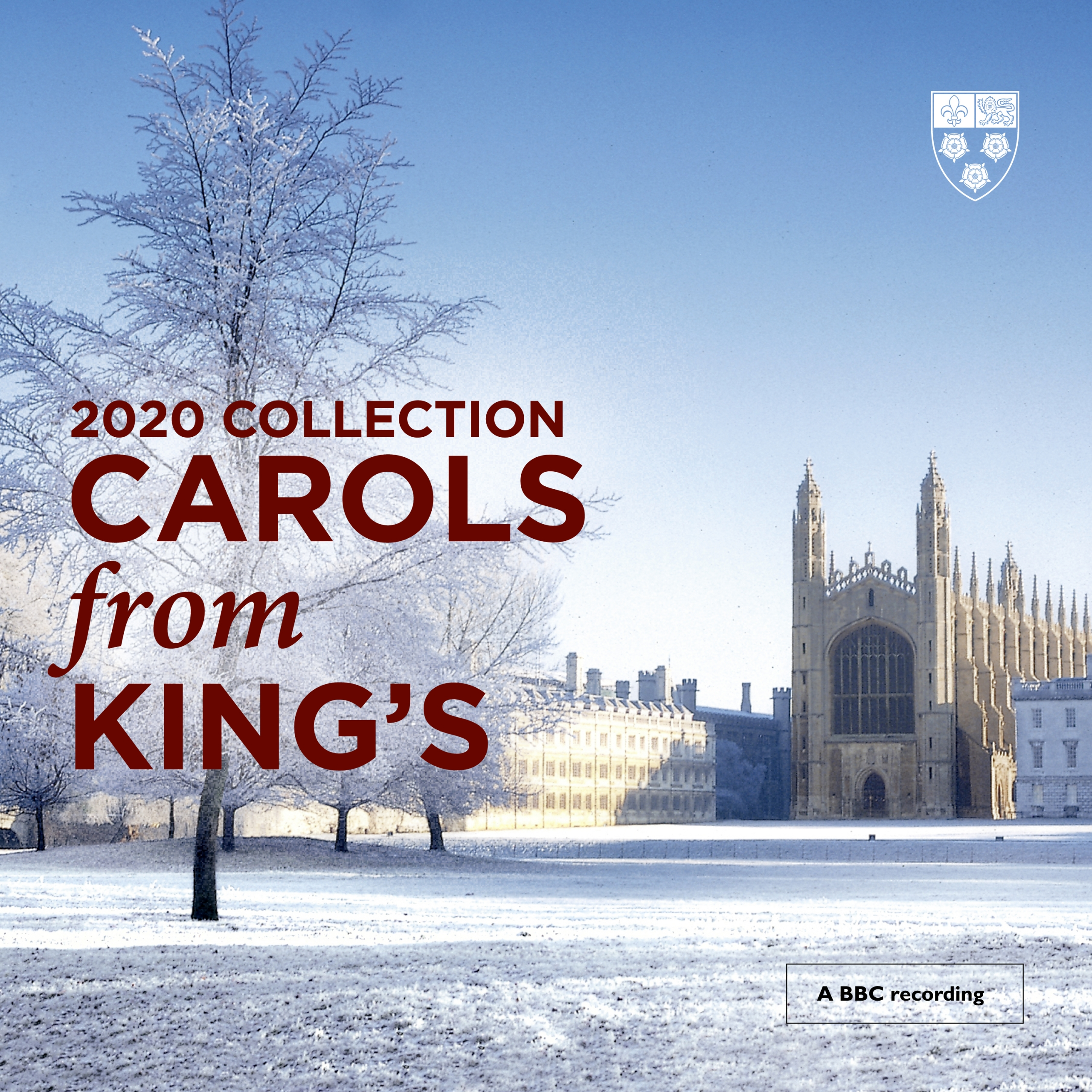 Carols from King's 2020 Album Cover