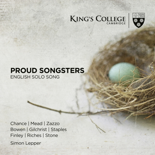 Proud Songsters album cover