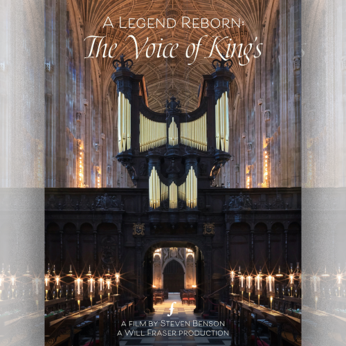 A Legend Reborn organ DVD cover