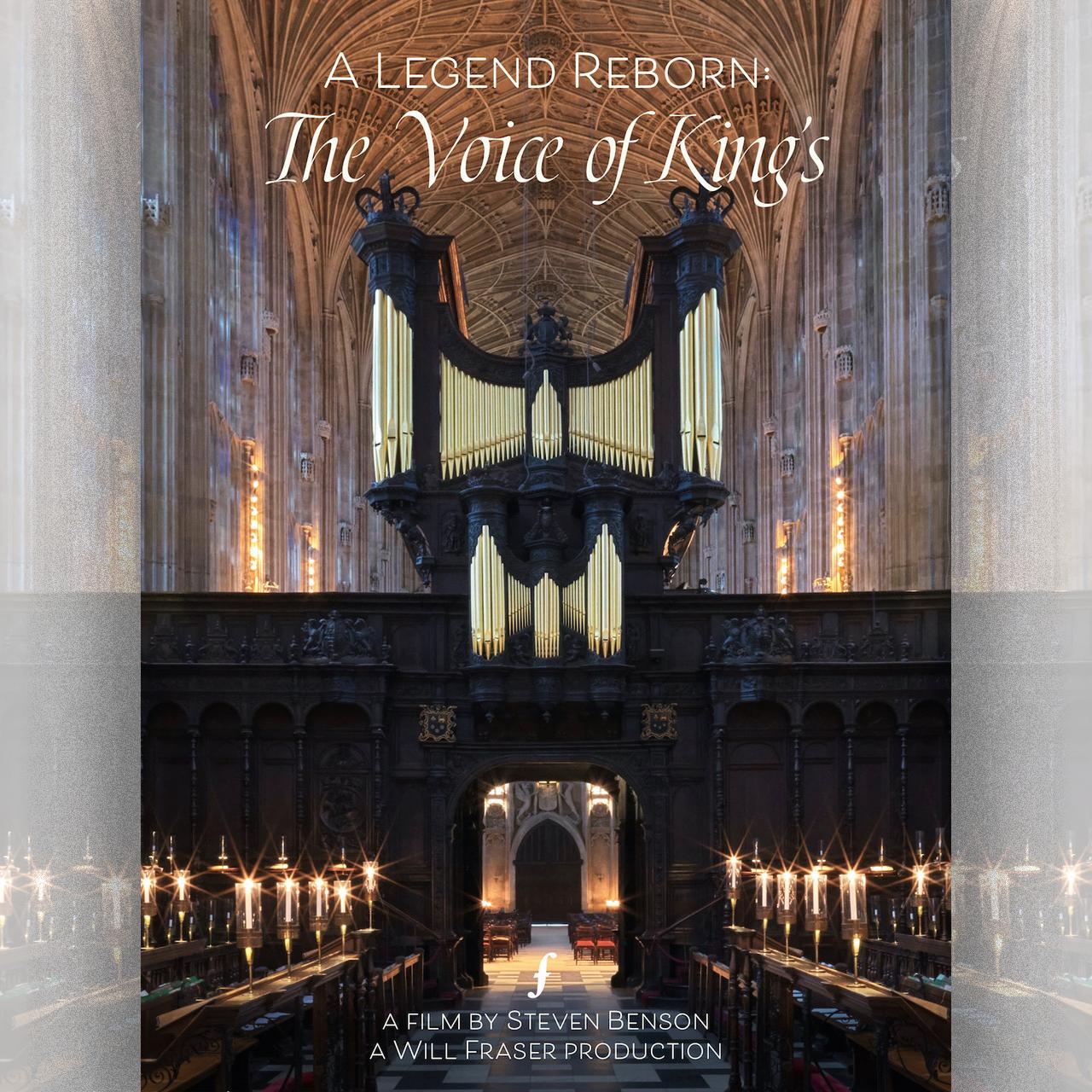 A Legend Reborn organ DVD cover