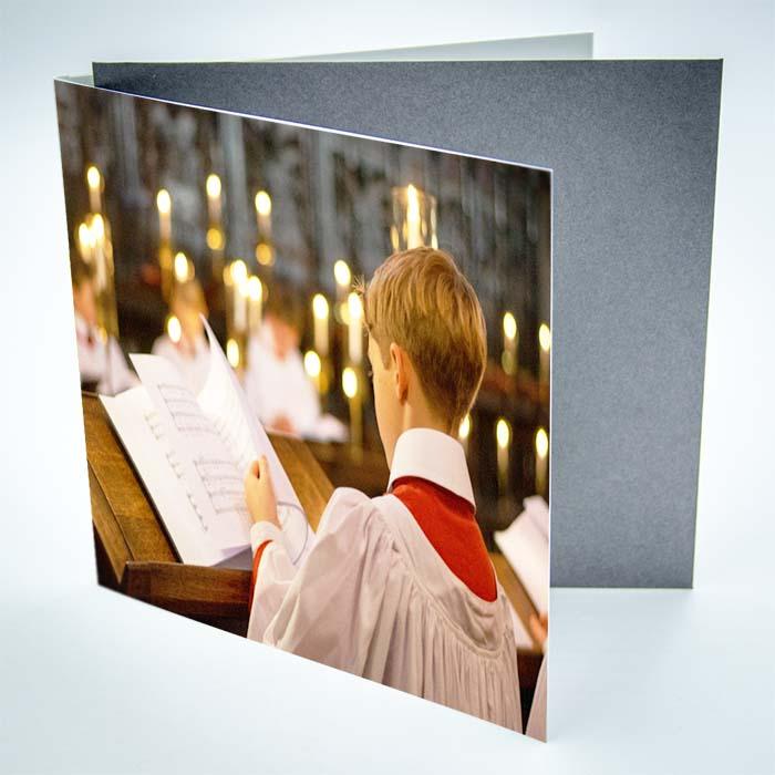 Christmas Card Chorister